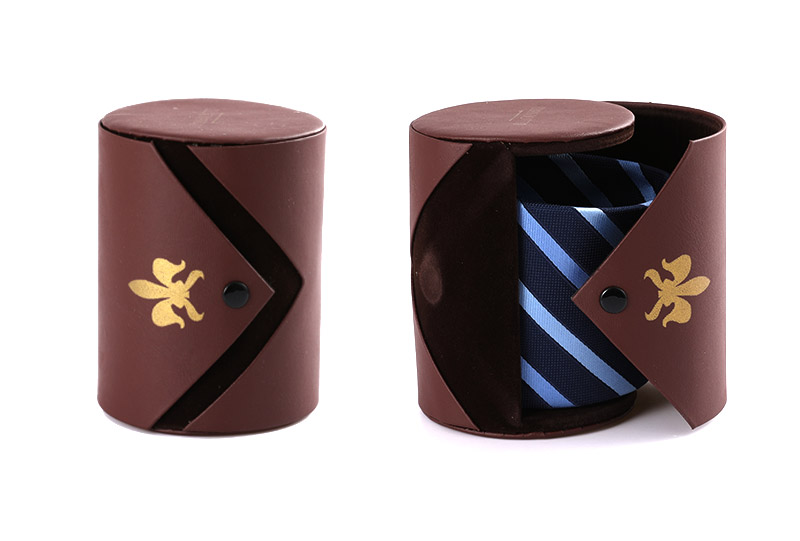 Necktie Boxes Series-8012C-brown