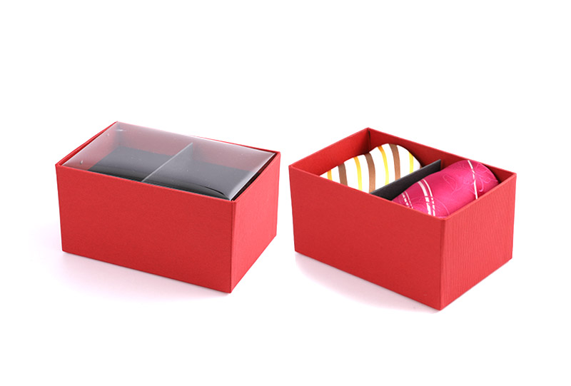 Necktie Boxes Series-red box
